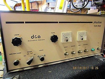 Tube Linear Amplifier - Classifieds