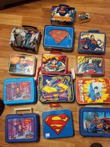 Superman metal lunch box