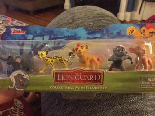 Disney Junior THE LION GUARD Collectible Mini Figure Set of 5