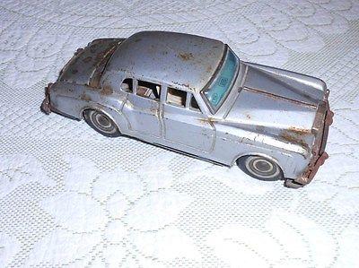 Vintage ROLLS ROYCE SILVER CLOUD tin litho CAR 6 1/4