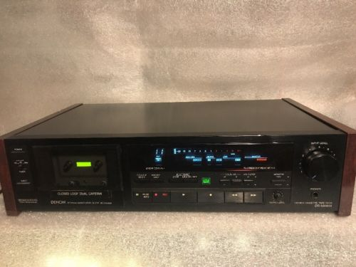 Denon DR-M44HX stereo cassette tape deck