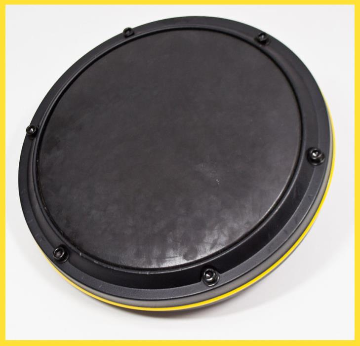 Ion Drum Rocker Electronic Drum Kit Replacement Drum Pad (Yellow)