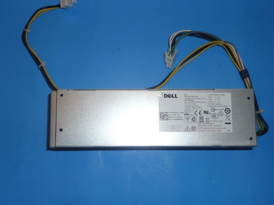 Dell 180W Power Supply WYX72 9DX51 5XV5K GCY55 D3YCN RWMNY J1J77 D6K0V