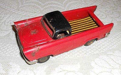VINTAGE 1959 Japan Friction Chevrolet EL CAMINO TRUCK Tin Toy