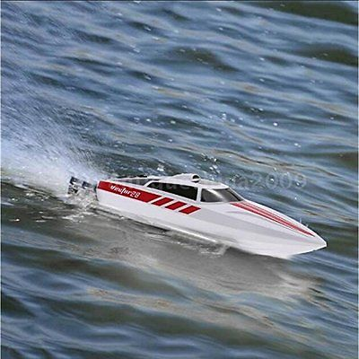 Ships Submarines Funtech 2.4GHz High Speed Electric RC Boat Remote Control Boat