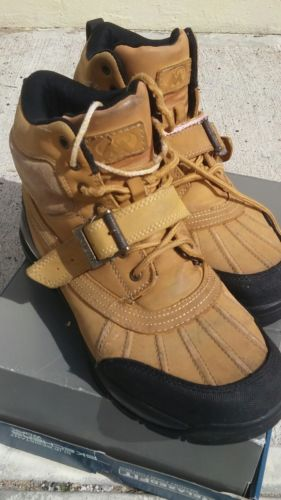 MENS MOUNTAIN GEAR  LEATHER UPPER BOOTS SIZE 9.5