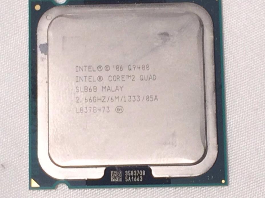 Intel Core 2 Quad CPU Q9400 2.66GHZ/6M/FSB1333 LGA775 SLB6B