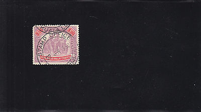 Federaled Malay States, Used, Sc#7, Hinged (20069)