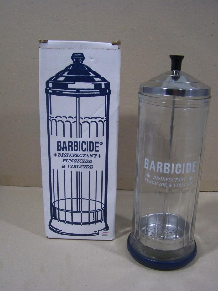 King Research Barbicide Disinfectant Fungicide & Virucide Jar w/ Box
