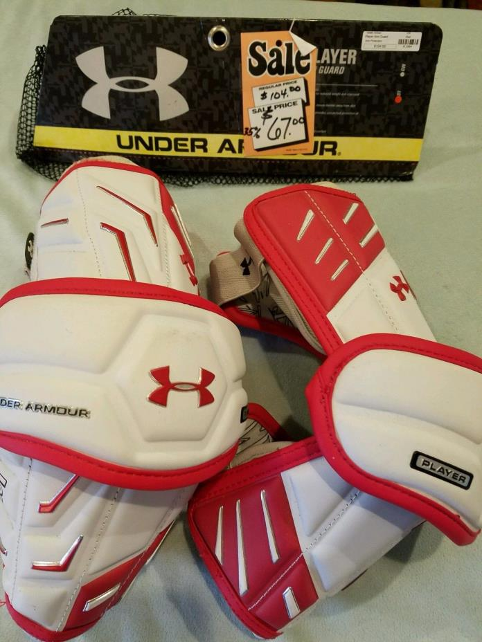 Under Armour LAX Arm Guards size Large