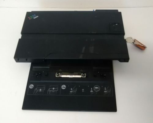 IBM ThinkPad Laptop Docking Station with keys Type 2877