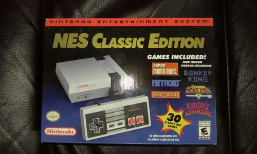New Nintendo Entertainment System NES Classic Edition Mini Console discontinued