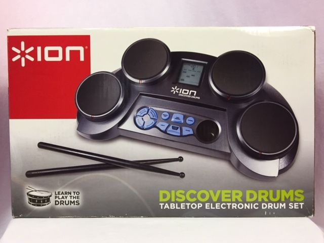 Ion Discover Drums Tabletop Electronic Drum Set