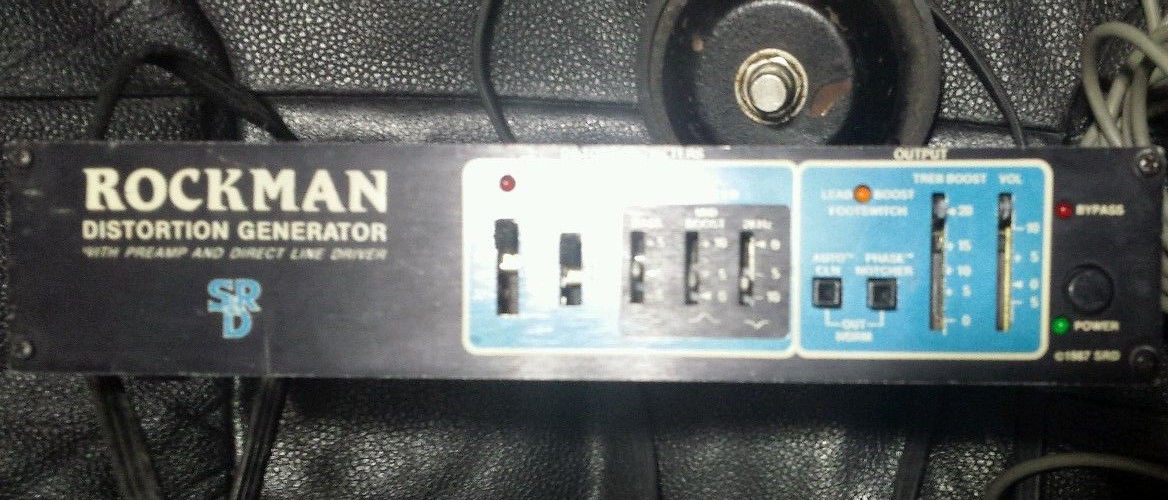 Rockman: VINTAGE DISTORTION GENERATOR WITH PREAMP AND DIRECT LINE DRIVER.