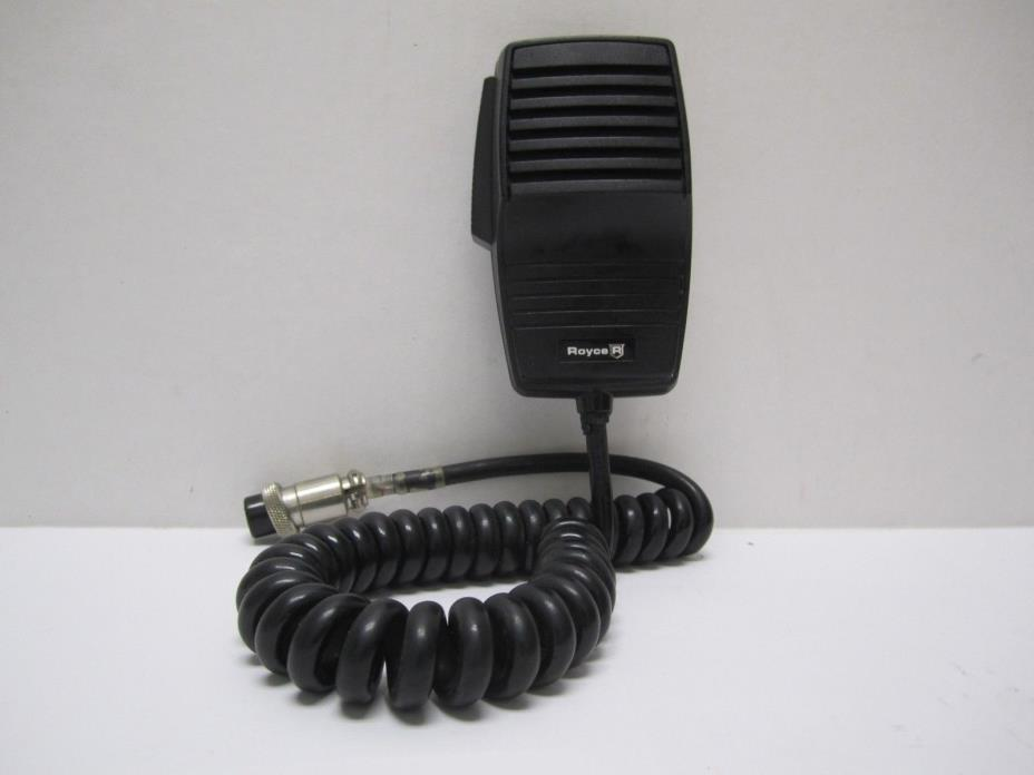 Vintage Royce 4-Pin CB Radio Microphone Mic
