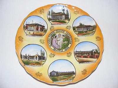 Alaska-Pacific-Yukon Exposition1909 Souvenir Plate 9.5