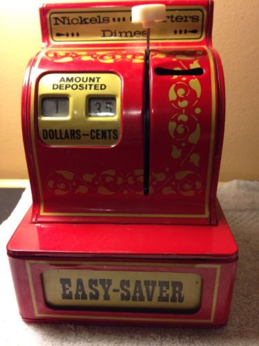 Buddy L Easy-Saver 3 Coin Register bank