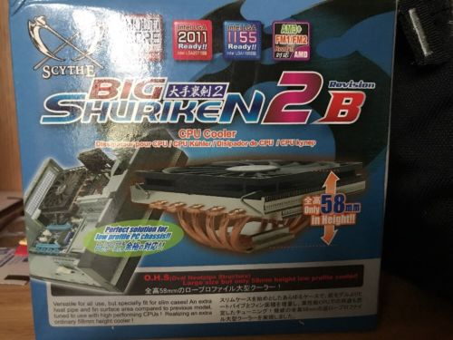 Scythe Big Shuriken 2 B 120mm CPU Cooler