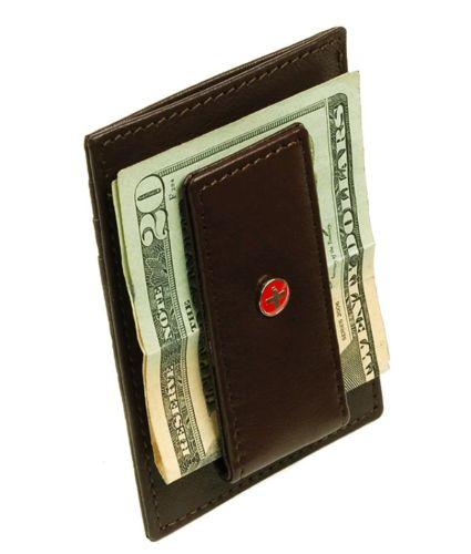 Alpine swiss mens money clip nwt