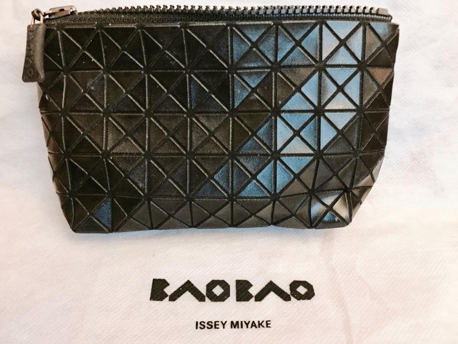 BAO BAO ISSEY MIYAKE CLUTCH BAG  Black BNWT