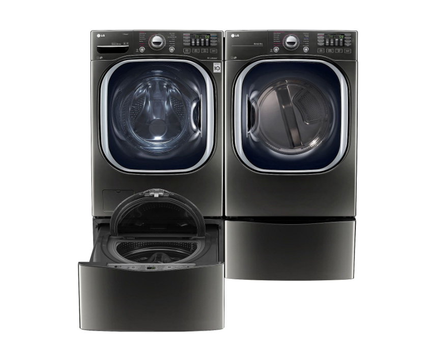 Ultra-Large Capacity Front-Load Washer, SideKick Pedestal Washer and Dryer with