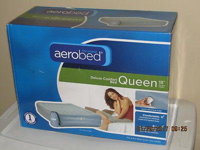 Aerobed Deluxe Comfort Queen Bed 18