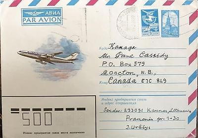 Lithuanian Diplomat Juozas Urbšys-Signed Envelope