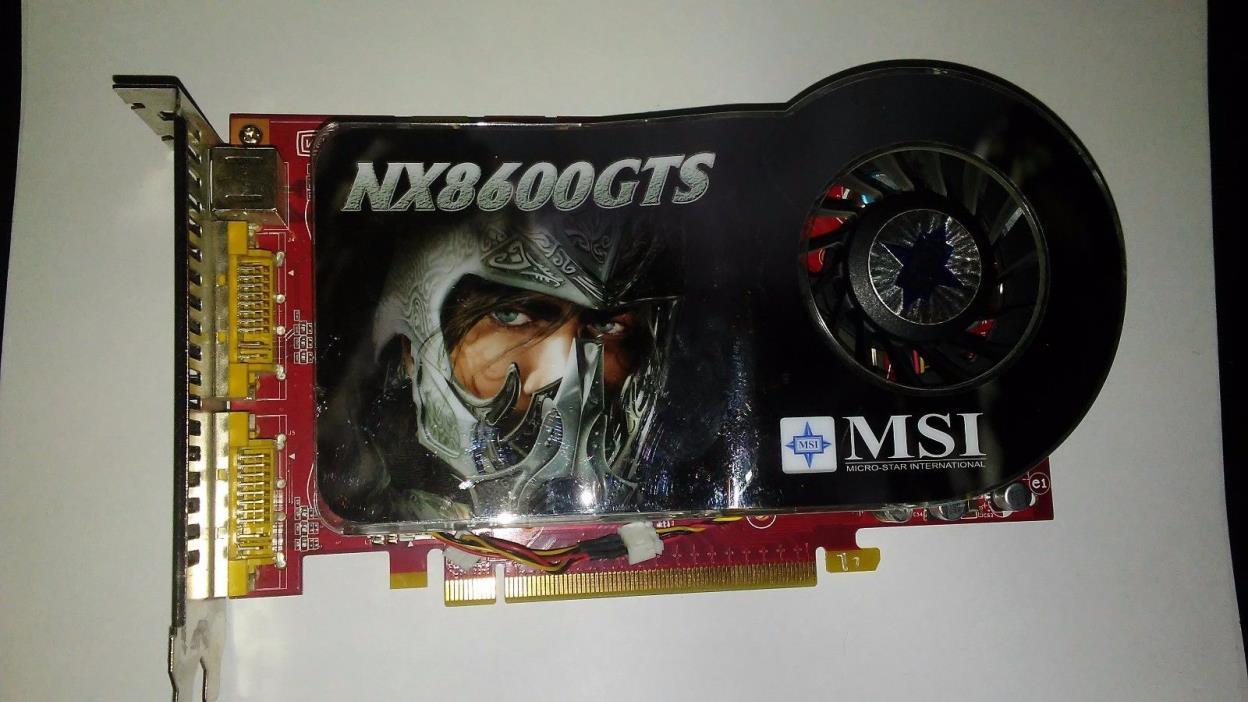 nx 8600 gts msi