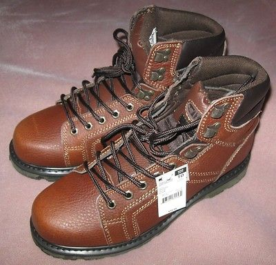Texas Steer Men's Leather Kode Work Boot, Brown (size 10 Wide Width) New w/ tags