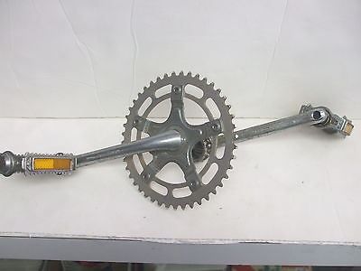 Vintage Old School Mongoose BMX Bicycle Crank And Pedals - Used Good Condition