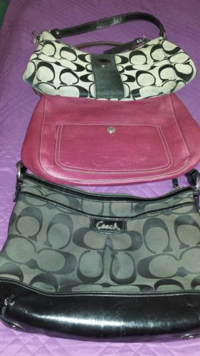 COACH - Lot of (3) Coach Bags - Medium Size