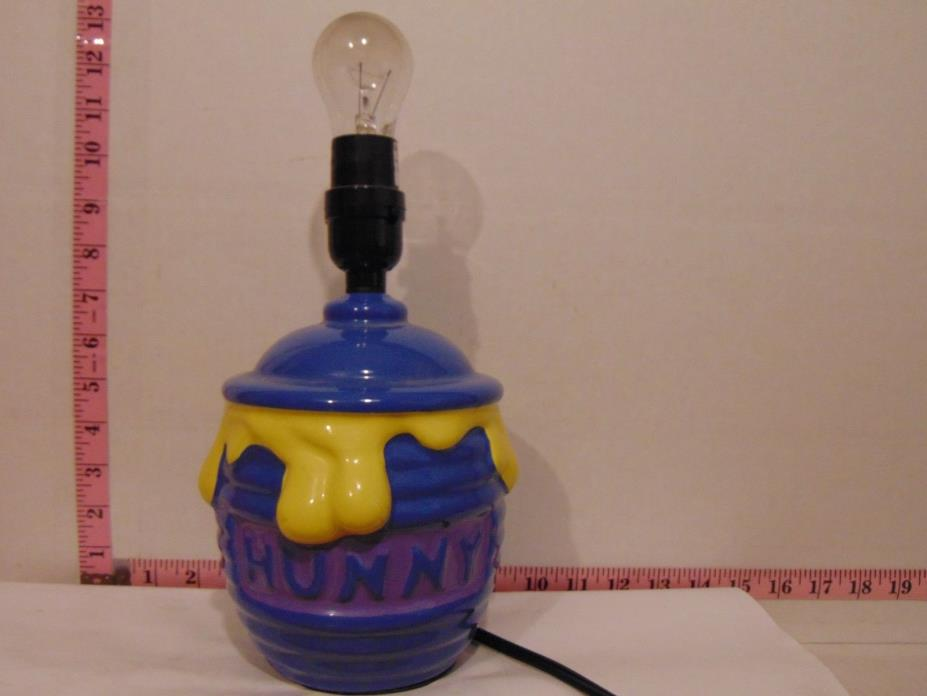 Winnie The Pooh Honey Pot Nursery Lamp Base Only