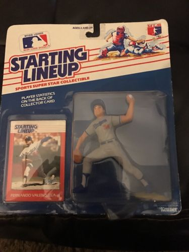 Fernando Valenzuela 1988 First Edition Starting Lineup