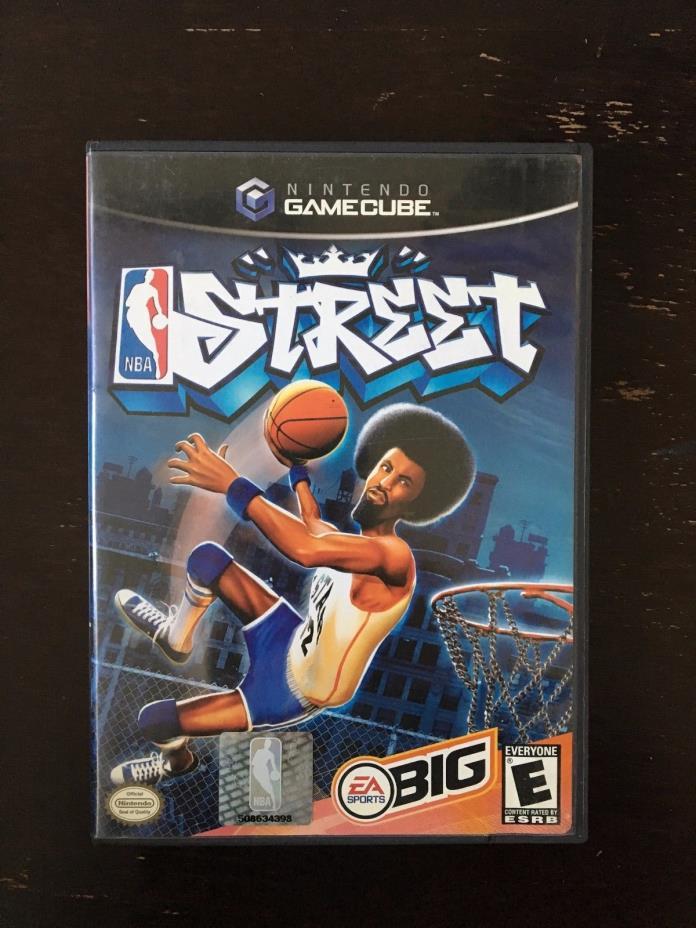 NBA Street - Nintendo Gamecube GCN Game NBA Street Complete CIB