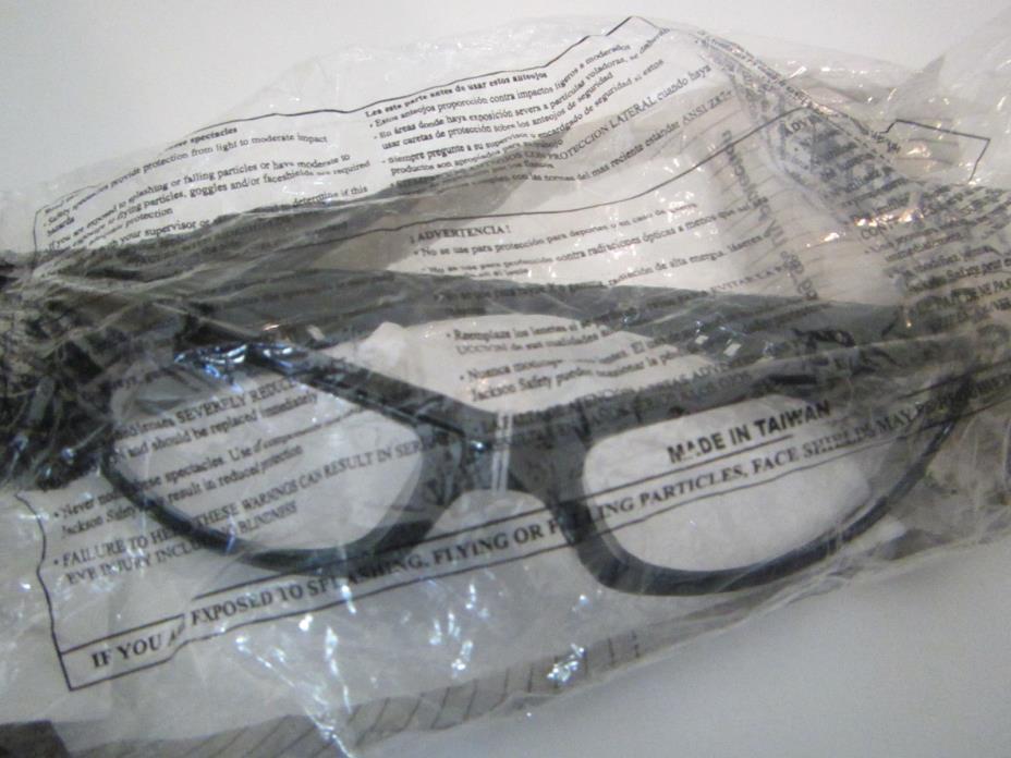 Jackson Spechellraiser Clear 3013851, Sold As 1 Each  Black Frame/ Clear Lens