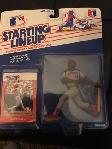 Eric Davis Reds 1988 First Edition Starting Lineup