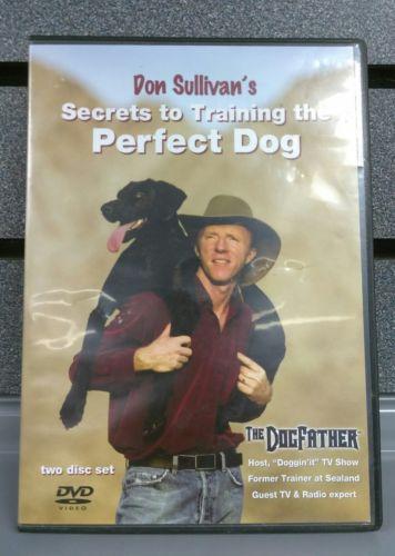 Don Sullivans Secrets to Training the Perfect Dog | 2-Disc Set | DVD |SHIPS FAST