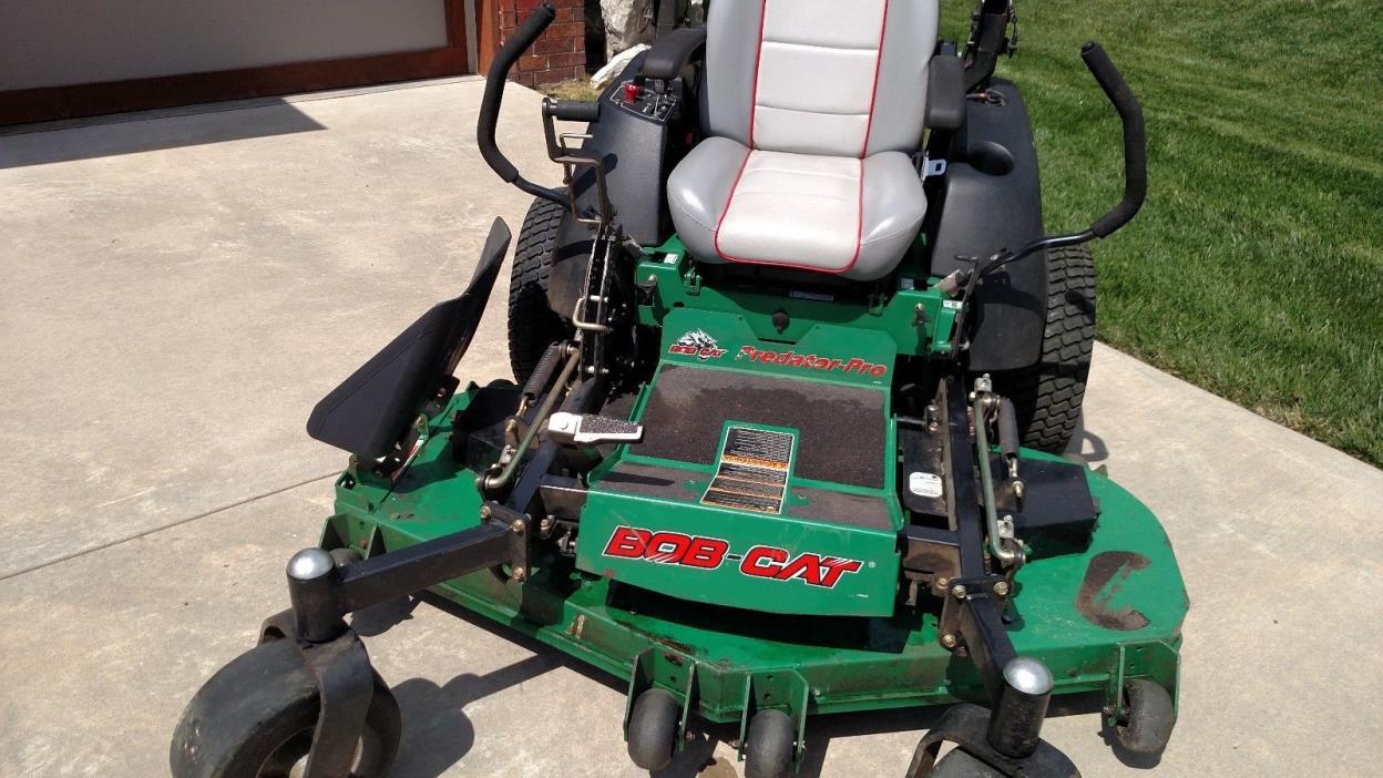 Bob Cat Predator pro zero turn Mower 61