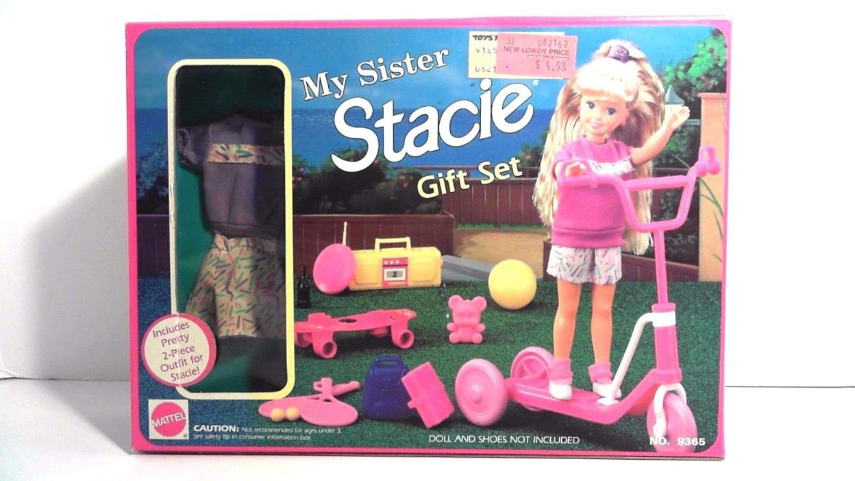 BARBIE MY SISTER STACIE GIFT SET MATTEL DOLLS NIB