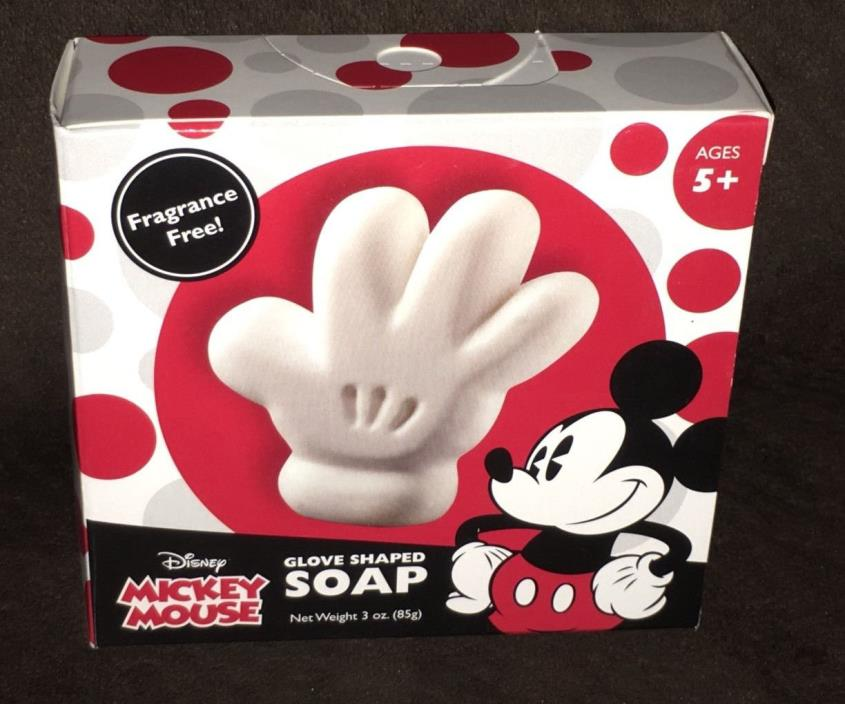 New Disney Mickey Mouse Glove Shaped Soap