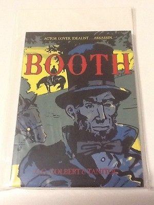 .Booth Lincoln assassination Civil war Wilkes Confederate Union Graphic book