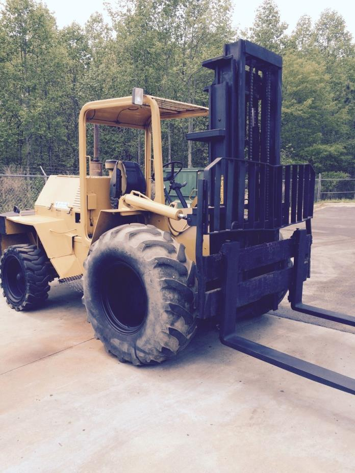 Rough Terrain Forklift 8000 lb. - Master Craft