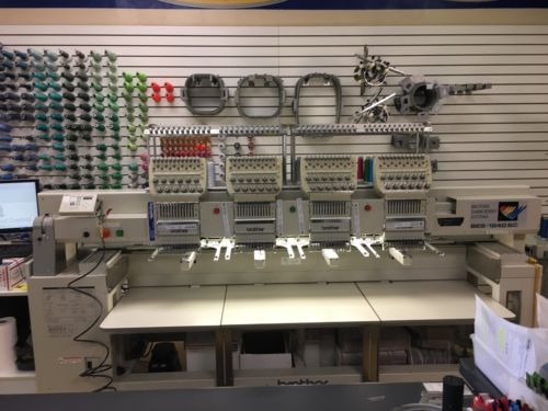 2004 Brother BES-1240BC 4 Head Embroidery Machine