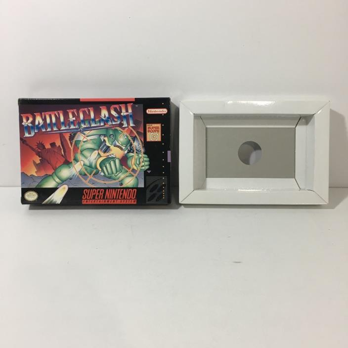 Battleclash BOX ONLY! (Super Nintendo) SNES NO GAME INCLUDED!! Battle Clash