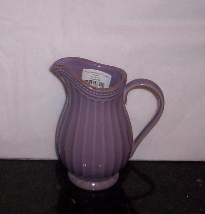 Lenox Pitcher Dinnerware French Perle Groove 6