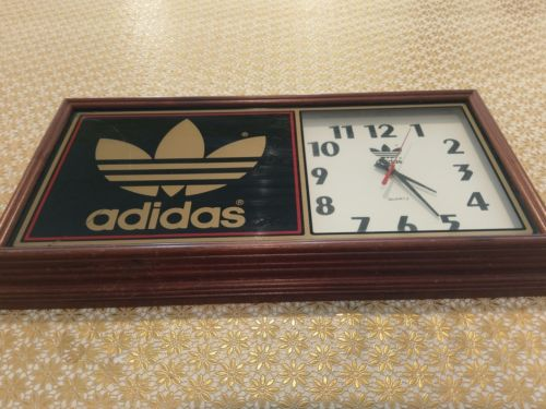 Vintage Adidas Wall Clock