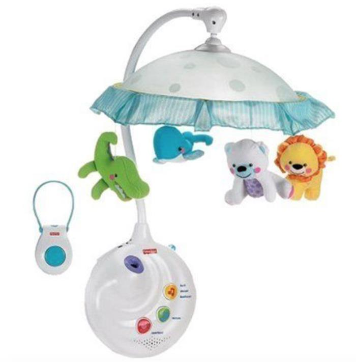 Fisher-Price Precious Planet 2-in-1 Projection Mobile - new open box