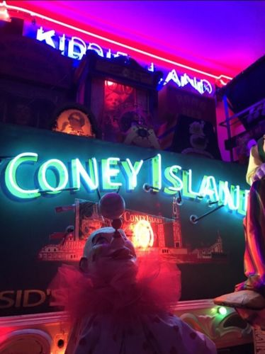 Coney Island Neon Sign Original From Coney Island New York Coinop