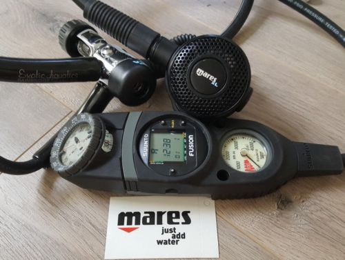 Mares XL Regulator + MRv12 with Suunto Favor Computer Console  Primo!