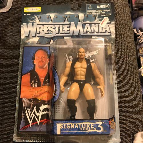 WWF Signature Series 3 Stone Cold Steve Austin Jakks 1998